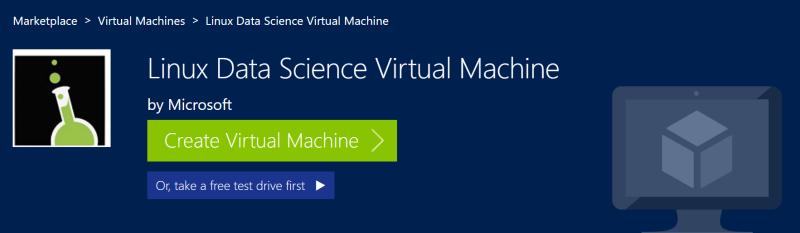 Виртуальная машина науки о данных (Data Science)